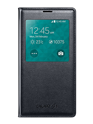 Samsung Galaxy GS5 S-View Cover Black