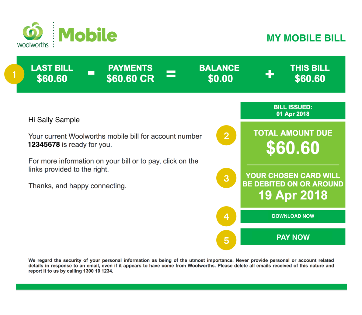 Support - Billing & Recharge | Woolworths Mobile
