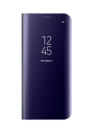 Samsung Galaxy S8 Clear View Standing Cover Violet